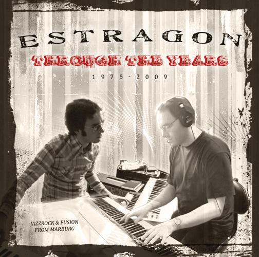 Booklet CD Estragon - Through the years