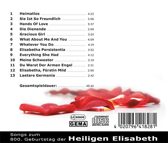 Booklet CD Hands of love